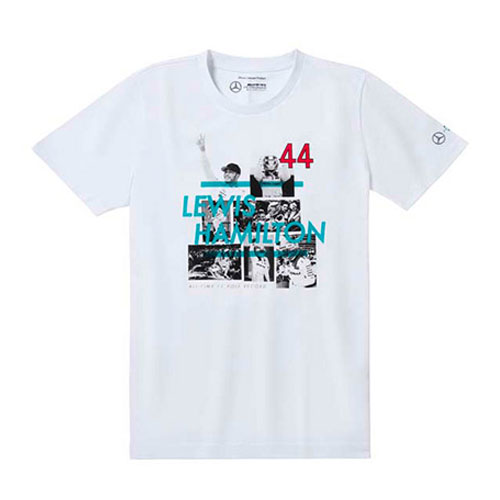 L.ハミルトン ポールポジション 最多獲得記録記念Tシャツ