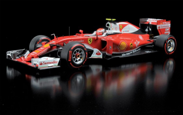 BBR MODELS <MINICHAMPS Exclusive>1/18 フェラーリ SF16-H K.ライコネン 2016年イタリアGP