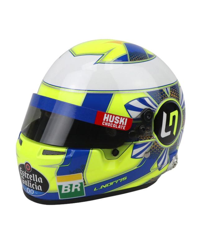 マクラーレン 2019 L.ノリス 1/2 ヘルメット