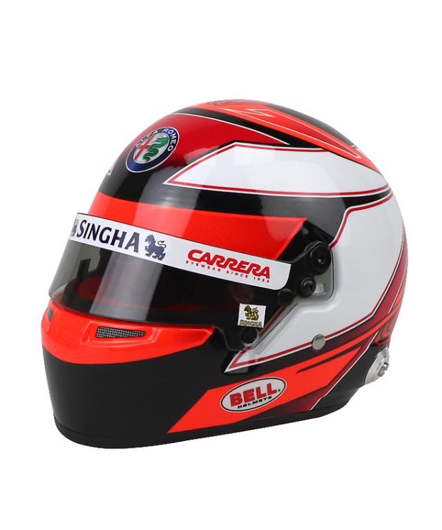 【再入荷】アルファロメオF1チーム 2019 K.ライコネン 1/2 ヘルメット