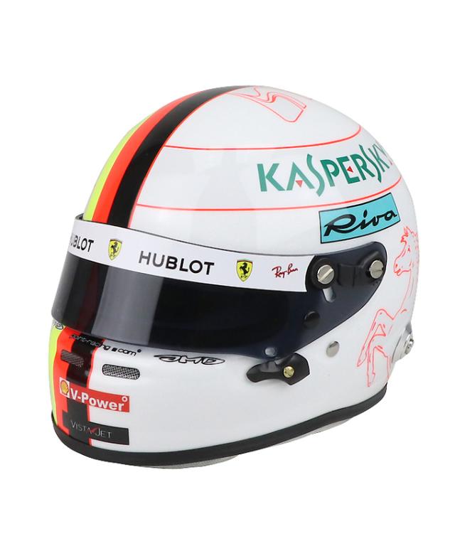 フェラーリ 2019 1/2 S.ベッテル ヘルメット