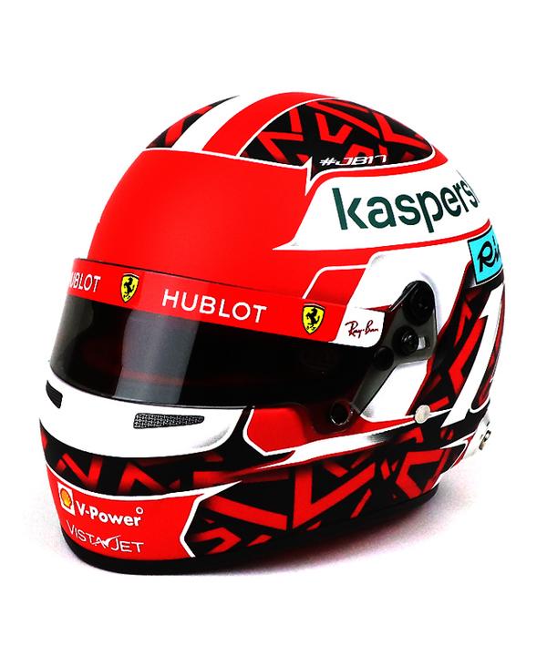 フェラーリ 2020 1/2 C.ルクレール ヘルメット