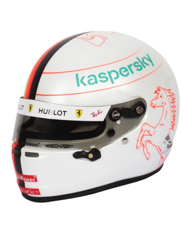 フェラーリF1 2020 S.ベッテル 1/2ヘルメット