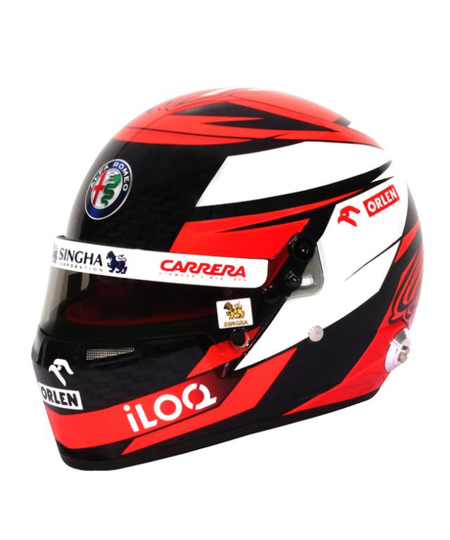 アルファロメオF1チーム 2020 K.ライコネン 1/2 ヘルメット