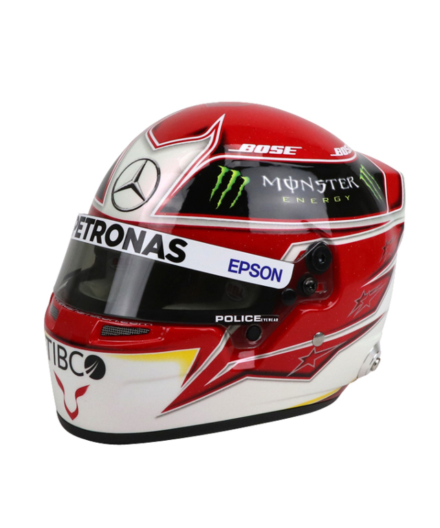 L.ハミルトン メルセデス F1 2019 1/2ヘルメット