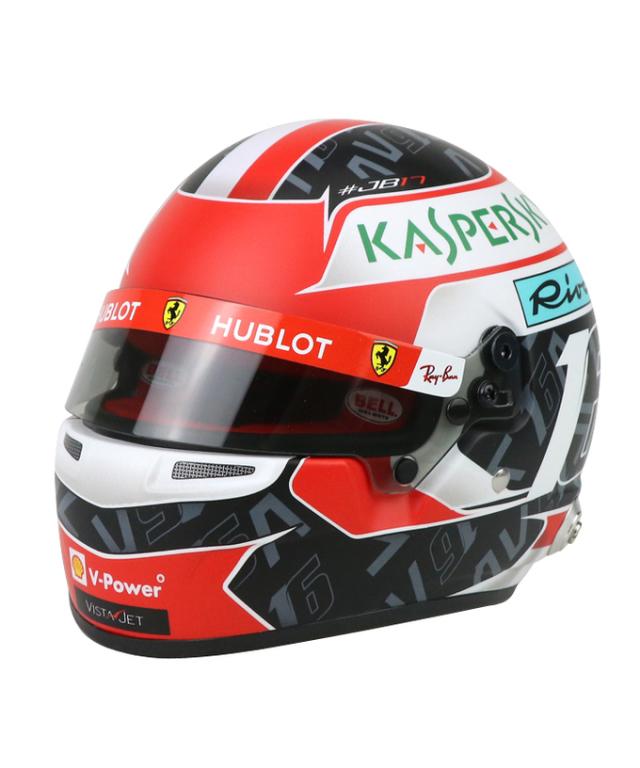 フェラーリ 2019 C.ルクレール 1/2 ヘルメット