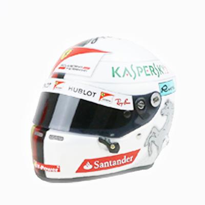 フェラーリ 2017 S.ベッテル 1/2 ヘルメット