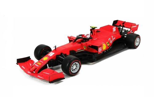 BURAGO(ブラーゴ)1/18 FERRARI(フェラーリ)SF1000 C.ルクレール 2020年オーストリアGP No.16
