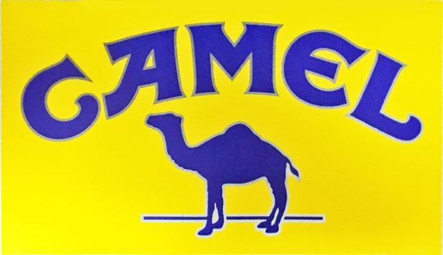 CAMEL プロモーションロゴステッカー(特大)