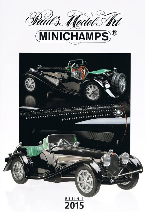 ミニチャンプス 2015年レジンモデル カタログ エディション1