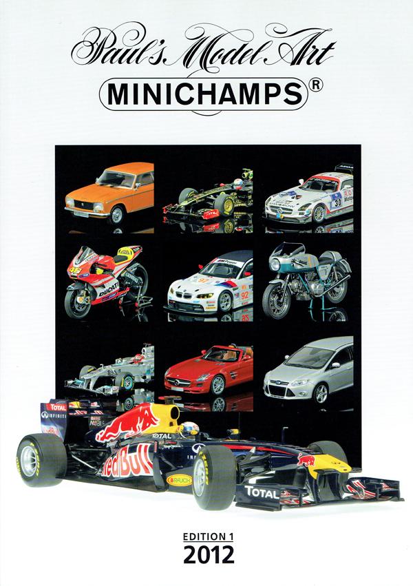 ミニチャンプス ミニカー 2012年総合カタログ エディション1