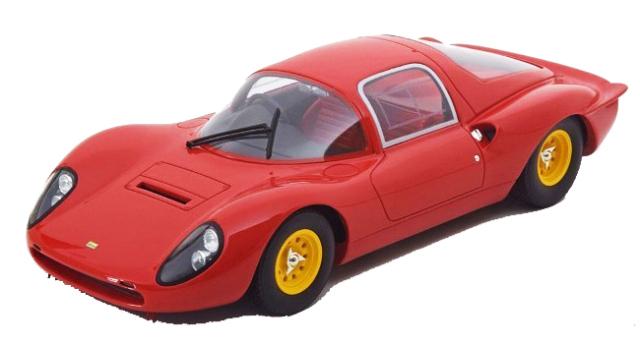 CMR 1/18 CMR041 フェラーリ ディノ 206S ベルリネッタ プレーンボディVer 1966 レッド