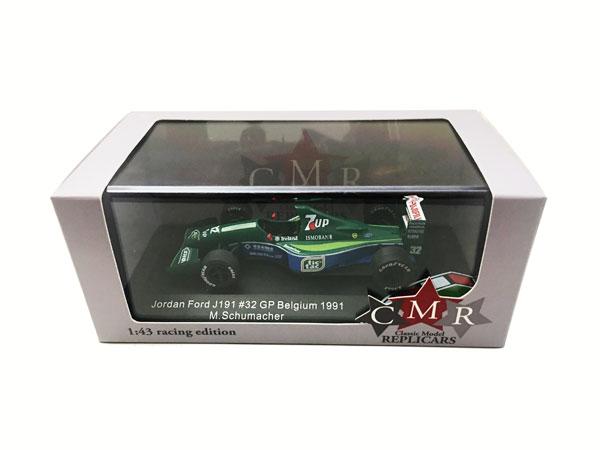 海外別注 CMR 1/43 ジョーダン191 M.シューマッハ 1991年ベルギーGPデビュー(ノンドライバー)