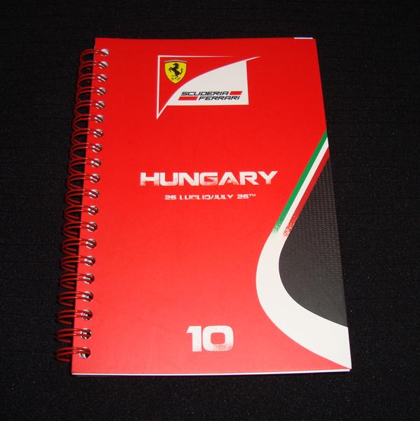 2015 フェラーリ メディアBOOK ハンガリーGP