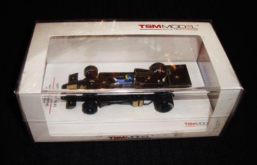 トゥルースケール 1/43 ロータス 76 R.ピーターソン 1974年ドイツGP NO.1 当店オリジナルJPSモデル