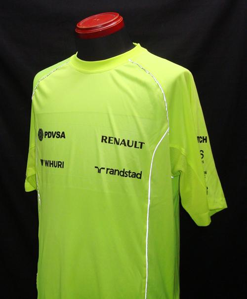 2013 ウィリアムズ セットアップTシャツ チーム支給品 新品 サイズM