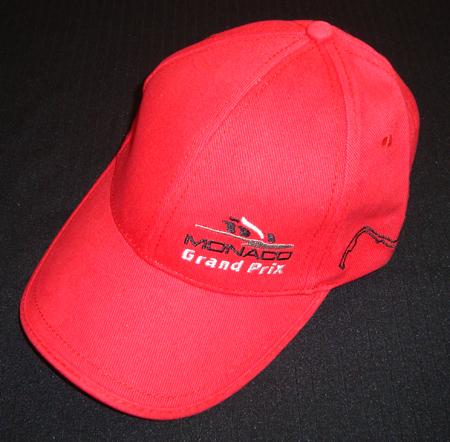 F1モナコGP 公式キャップ レッド(B)