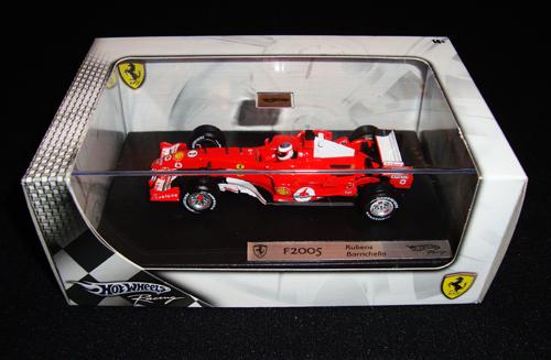 マテル 1/43 フェラーリ F2005 R.バリチェロ(並行輸入品)