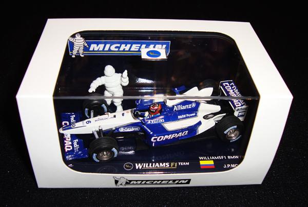 【SALE】ミシュラン別注 ミニチャンプス 1/43 ウィリアムズ FW24 J.P.モントーヤ 限定