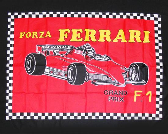1980~1990年代 フォルツァ フェラーリ フラッグ (大)