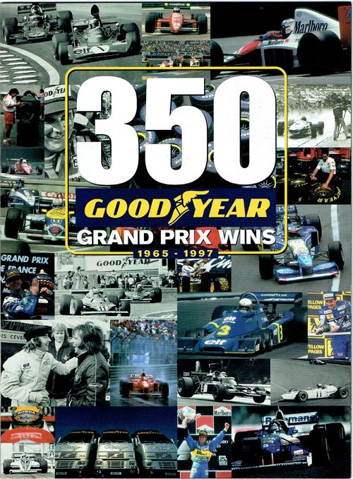 GOODYEAR F1グランプリ 350勝 記念冊子