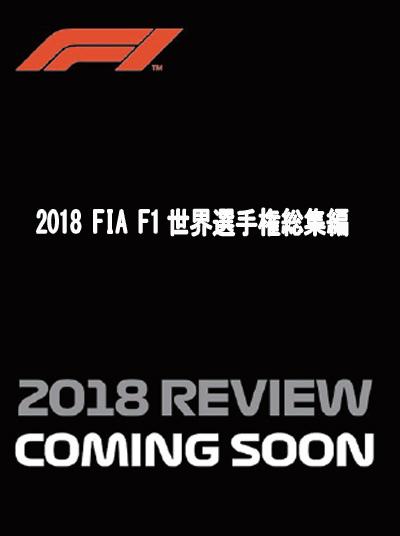 【メール便可】2019/1/21発売 ご予約商品 当店オリジナル特典付  2018 FIA F1世界選手権総集編 完全日本語版(ブルーレイ版)