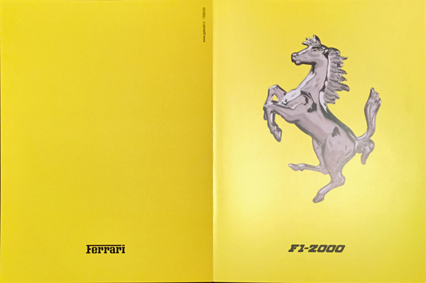 2000年 FERRARI(フェラーリ) F1-2000 F1マシンスペックカタログ