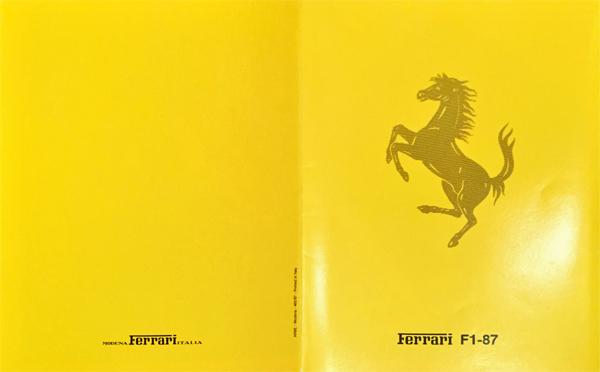 1987年 FERRARI(フェラーリ) F1 87 F1マシンスペックカタログ