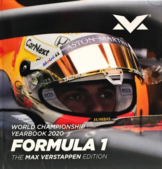 FORMULA-ONE(フォーミュラ1)2020年YEARBOOK(年鑑)限定版フェルスタッペンエディション(イタリアオートスプリント社制作)