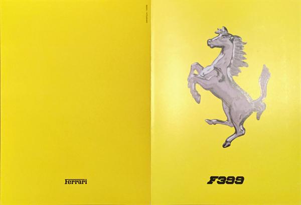 1999年 FERRARI(フェラーリ) F399 F1マシンスペックカタログ