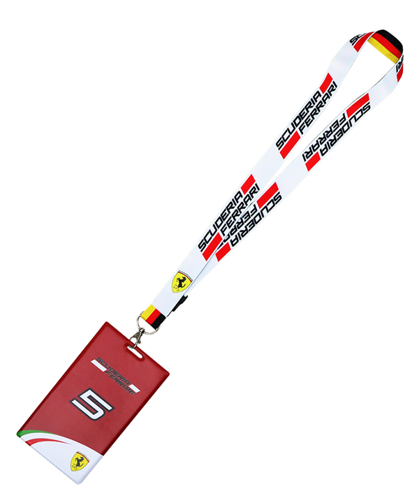2016 フェラーリ  S.ベッテル チケットケース