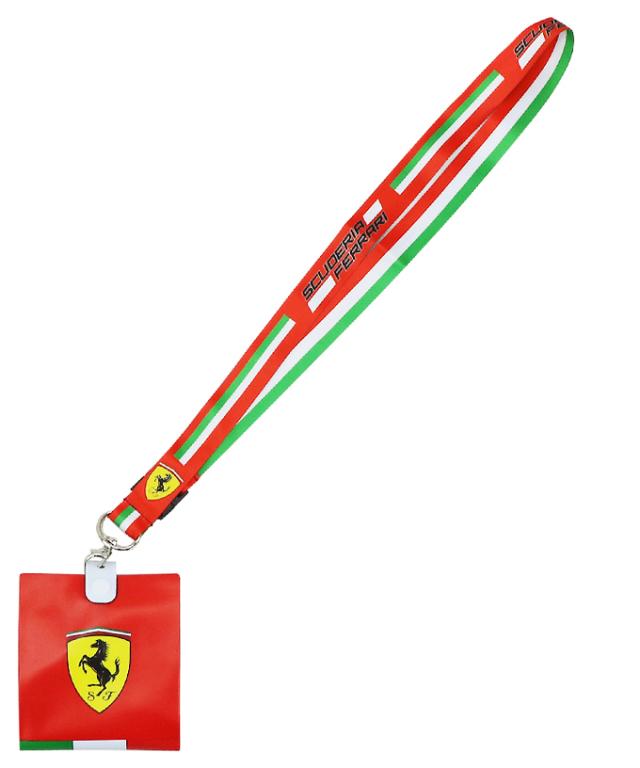 フェラーリ SF チーム ランヤード(チケットホルダー付)