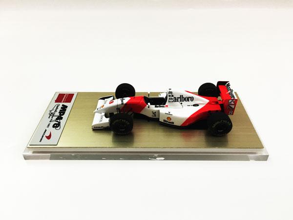 EIDOLON FORMULA(アイドロン フォーミュラ) 1/43 マクラーレン フォード MP4/8 A.セナ 日本GP 1993 当店オリジナルタバコロゴモデル