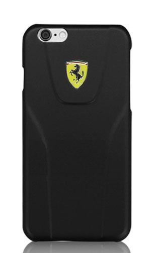 """フェラーリiPhone6/6S(4.7inch)カバー  """"Ferrari Fiorano Metalic 3D Hard Case  Black """""""