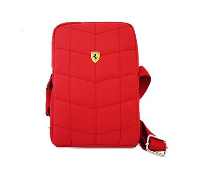 【SALE】フェラーリ カメラ&フリーバッグ CAMERA BAG V1  LARGE RED