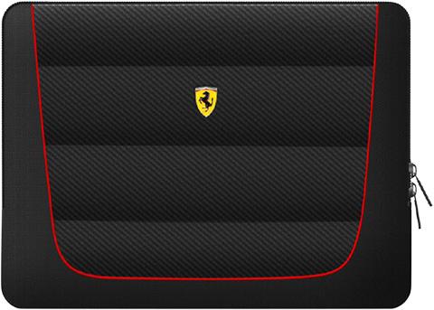 """フェラーリ13インチ ノートPC用バッグ  """"Ferrari Compatible with 13inch computers"""" ブラック"""