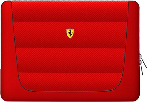 """フェラーリ13インチ ノートPC用バッグ  """"Ferrari Compatible with 13inch computers"""" レッド"""