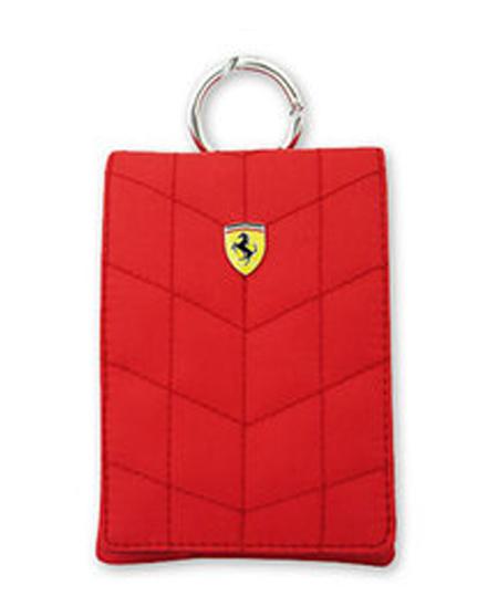 フェラーリ メディアポーチ POUCH VERTICAL  V1 RED