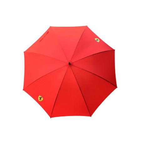 フェラーリストア限定 フェラーリ スクデットゴルフアンブレラ(傘) レッド