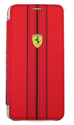 """フェラーリSamusung Galaxy S9カバー """"Ferrari - S9 G960 Booktype Case RED"""""""