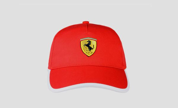 フェラーリストア限定 フェラーリ ツートーン キャップ レッド