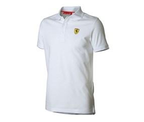 【SALE】フェラーリ キッズ ポロシャツ ホワイト