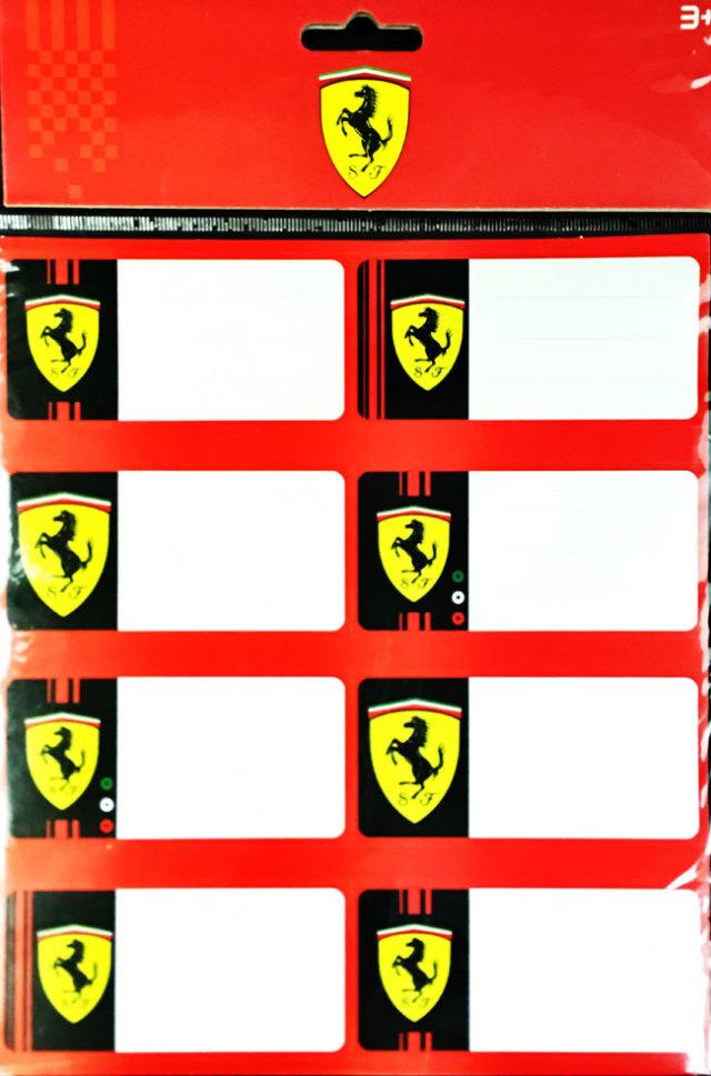 FERRARI フェラーリ ワールドアブダビ限定 メモステッカーセット