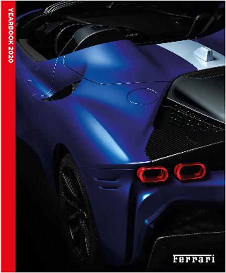 FERRARI(フェラーリ)2020YEAR BOOK(別冊:日本語解説本付)