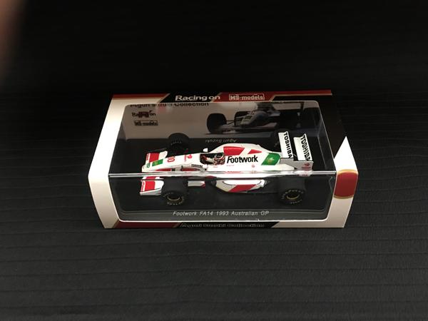スパーク Racing on(レーシングオン)別注 1/43 フットワークFA14 鈴木亜久里 1993オーストラリアGP仕様