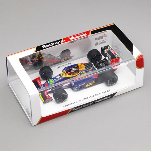 【代引き決済のみ】Racingon(レーシングオン)別注 スパーク 1/43 ローラLC88 フォード 1988年日本GP 鈴木亜久里