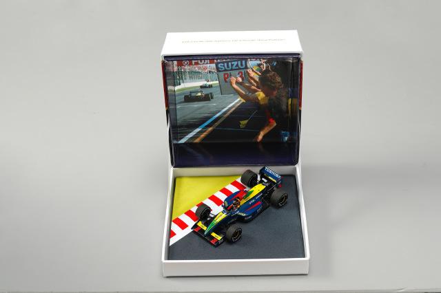 Racing on別注 スパーク 1/43 ラルース ローラLC90 鈴木亜久里 1990年日本GP 特製BOX
