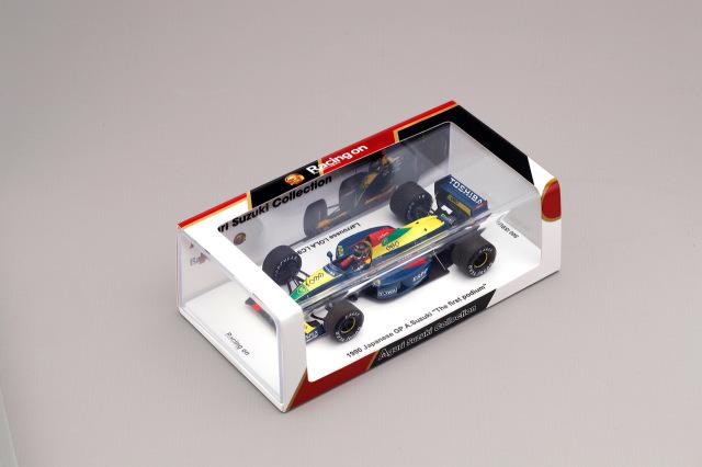 Racing on(レーシングオン)別注 スパーク 1/43  ラルース ローラLC90 鈴木亜久里 1990年日本GP 通常BOX