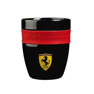 フェラーリ SF ラバーグリップマグ ブラック サイズ:高さ10×直径:8cm