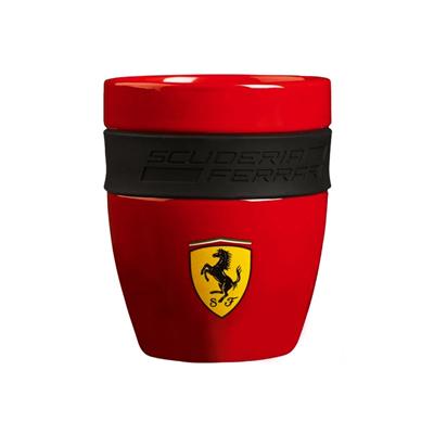 フェラーリ SF ラバーグリップマグ レッド サイズ:高さ10×直径:8cm